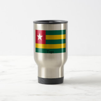 Flag of Togo 15 Oz Stainless Steel Travel Mug