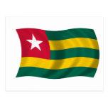 Flag of Togo Postcard