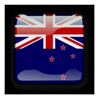 Flag of Tokelau Perfect Poster