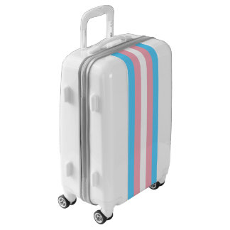 Flag of Trans Pride Luggage (Carry-On)