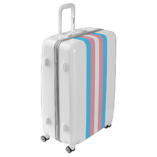 Flag of Trans Pride Luggage (Large)