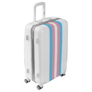 Flag of Trans Pride Luggage (Medium)