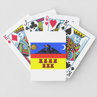 Flag_of_Transylvania Bicycle Playing Cards