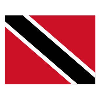 Flag of Trinidad and Tobago Postcard