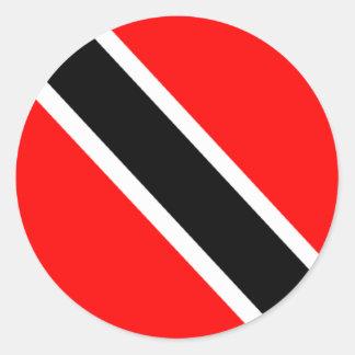 Flag of Trinidad Classic Round Sticker