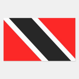 Flag of Trinidad Rectangular Sticker
