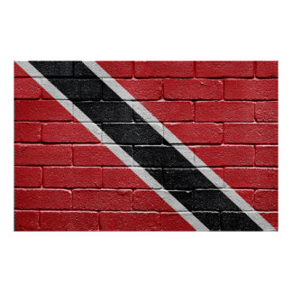 Flag of Trinidad Tobago Poster