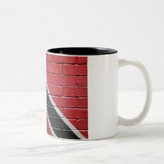 Flag of Trinidad Tobago Two-Tone Coffee Mug