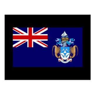 Flag of Tristan da Cunha Postcard