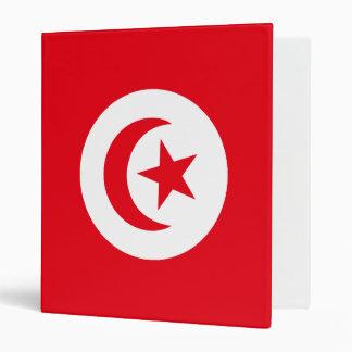 Flag of Tunisia Binder