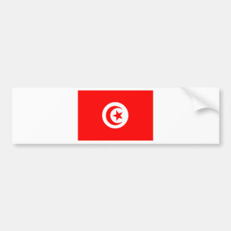 Flag of Tunisia Bumper Sticker