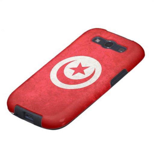 Flag of Tunisia Galaxy S3 Cases