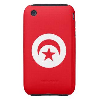 Flag of Tunisia iPhone 3 Tough Case