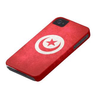 Flag of Tunisia iPhone 4 Case-Mate Case