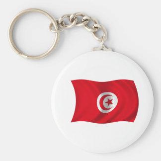 Flag of Tunisia Keychain