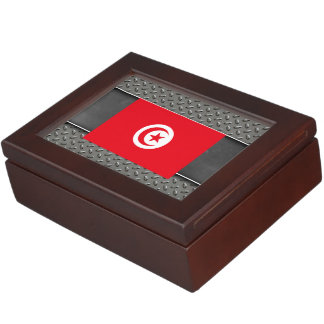 Flag of Tunisia Memory Boxes