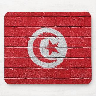 Flag of Tunisia Mouse Pad