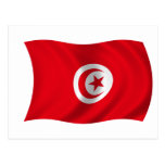 Flag of Tunisia Post Cards