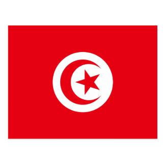 Flag of Tunisia Postcard