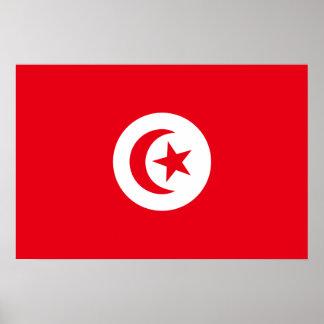 Flag of Tunisia Poster