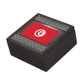 Flag of Tunisia Premium Trinket Boxes