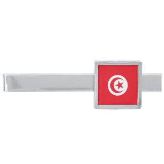 Flag of Tunisia Tie Clip