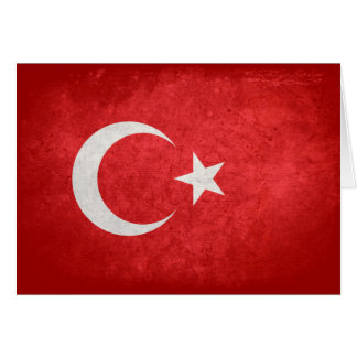 Flag of Turkey Card