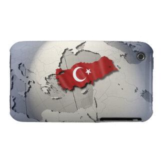 Flag of Turkey Case-Mate iPhone 3 Cases