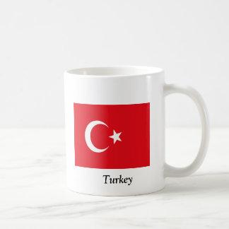 Flag of Turkey Classic White Coffee Mug