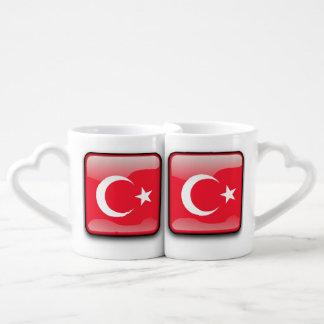 Flag of Turkey Coffee Mug Set