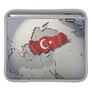 Flag of Turkey iPad Sleeve