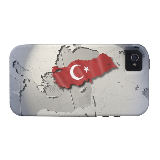 Flag of Turkey iPhone 4/4S Cover