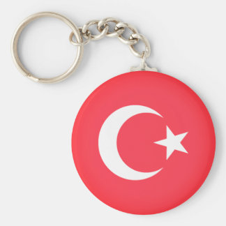 Flag of Turkey Keychain