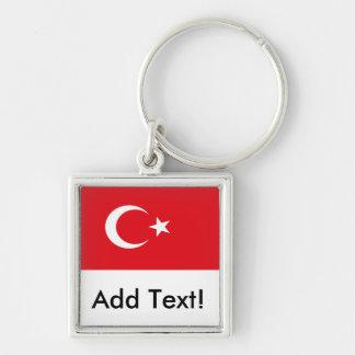 Flag of Turkey Keychain