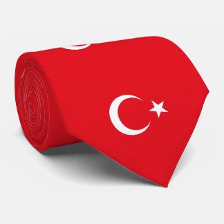Flag of Turkey Neck Tie