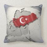 Flag of Turkey Pillows