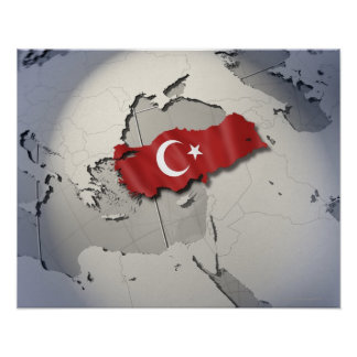 Flag of Turkey Poster