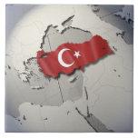 Flag of Turkey Tiles