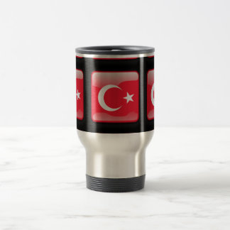 Flag of Turkey Travel Mug