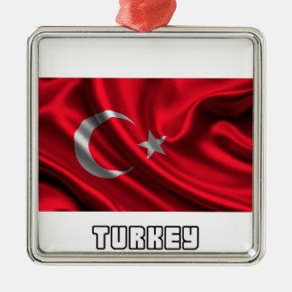 Flag of Turkey, Turkish Flag Metal Ornament