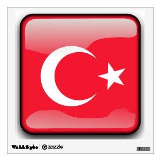 Flag of Turkey Wall Decal