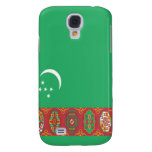 Flag of Turkmenistan Galaxy S4 Cover