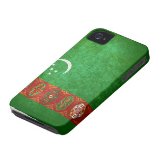 Flag of Turkmenistan iPhone 4 Cover