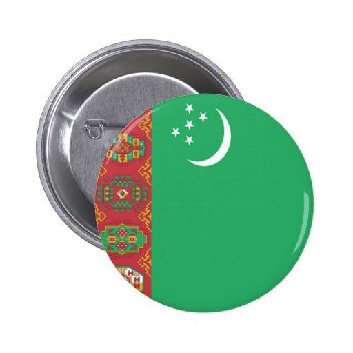 Flag of Turkmenistan Pins