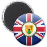 Flag of Turks and Caicos Islands Refrigerator Magnet
