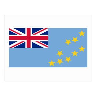 Flag of Tuvalu Postcard