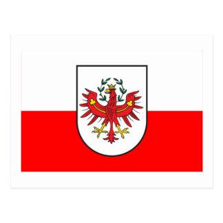 Flag of Tyrol, Austria Postcard