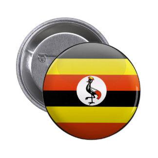 Flag of Uganda Button