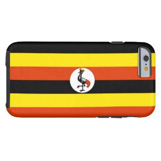 Flag of Uganda Tough iPhone 6 Case