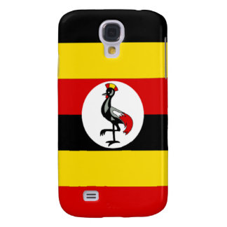 Flag of Uganda Samsung Galaxy S4 Case